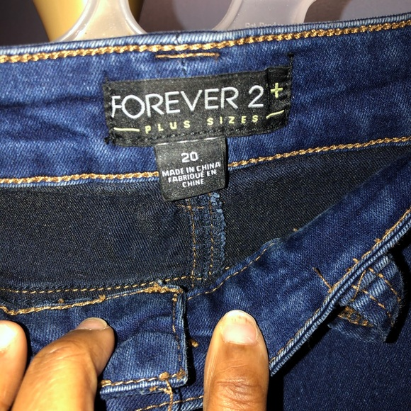 Forever 21 Denim - FOREVER21 SKINNY LEG JEANS